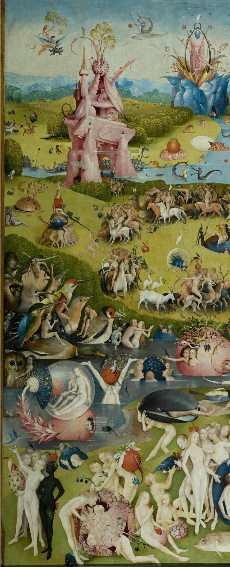 The Garden of Earthly Delights central panel 1