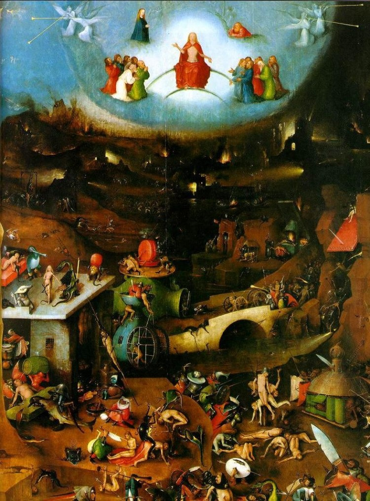 Last judgement Bosch (central panel)
