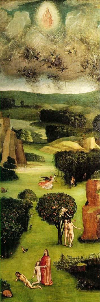 Last judgement Bosch (left panel)