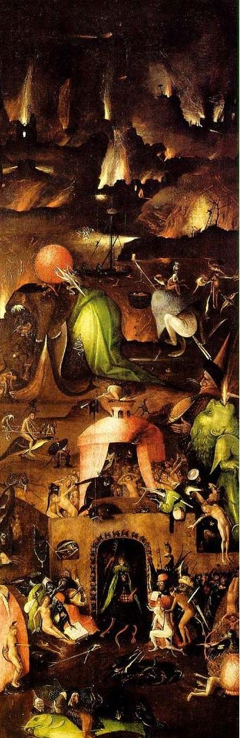 Last judgement Bosch (right panel)