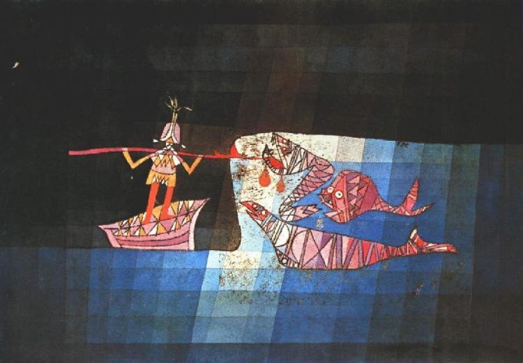 Battle scene from the comic-fantastic opera The Seafarer