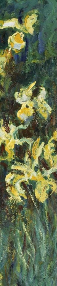 Claude Monet- Yellow Irises detail 2