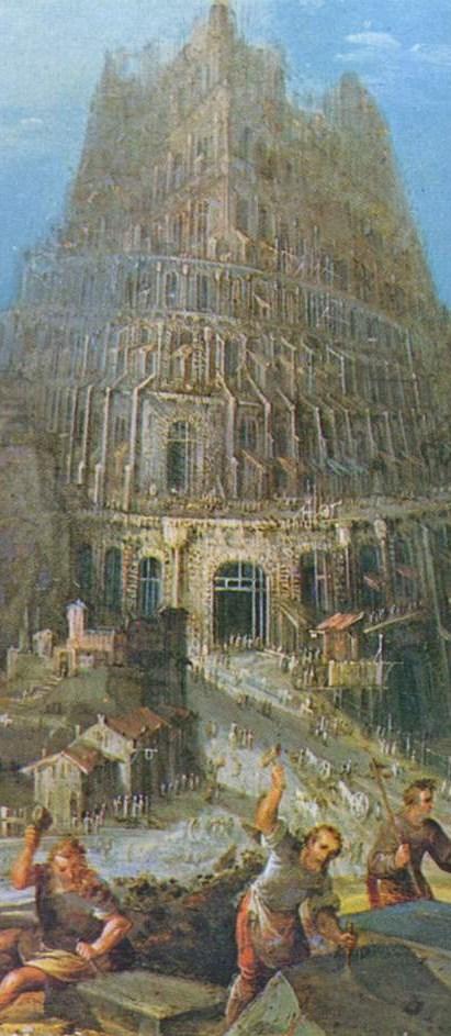 Pieter Bruegel Babel detail