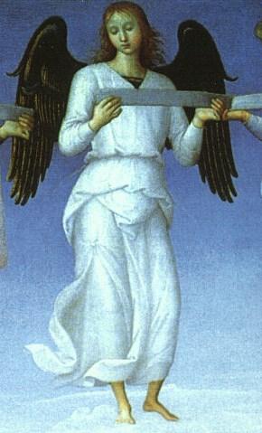 Pietro Perugino angel