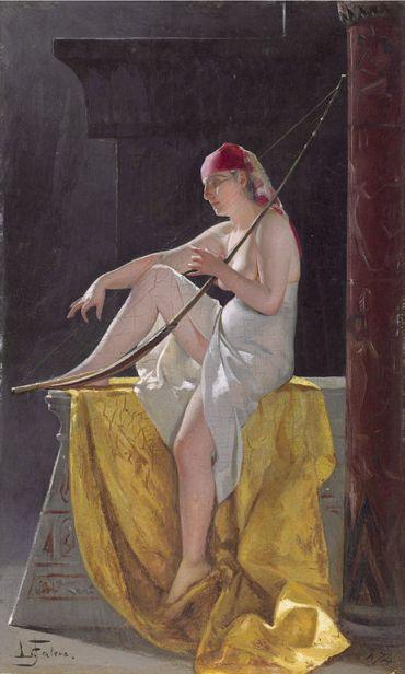461px-Egyptian_Woman_With_Harp,_by_Luis_Ricardo_Falero