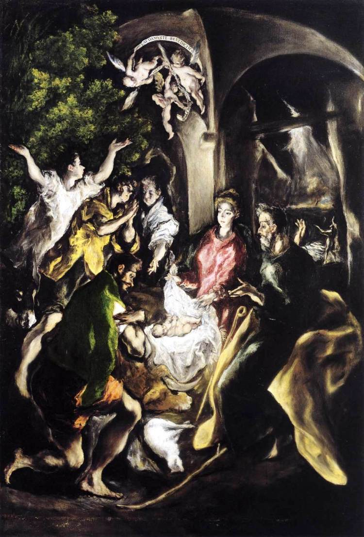 El Greco adoration-of-the-shepherds