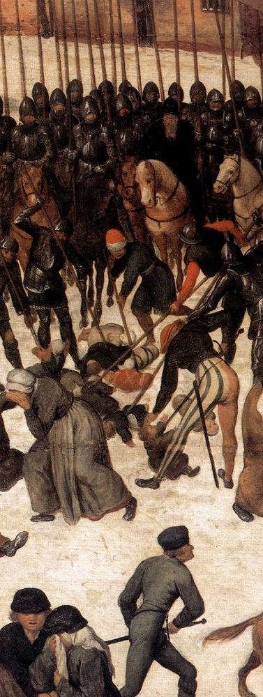 Pieter Bruegel- the Massacre of the Innocents, in part