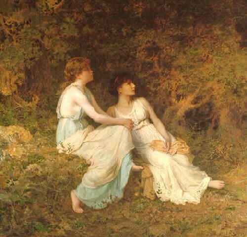 Sophie Anderson Birdsong