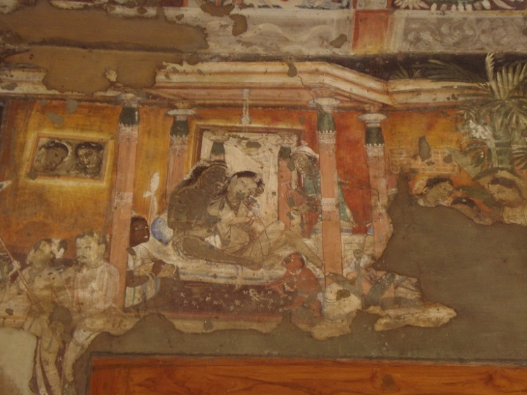 Ajanta_Caves,_Painting_1