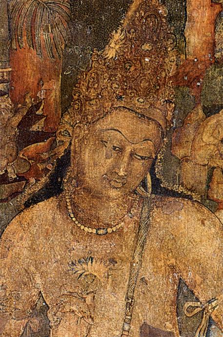 Ajanta_Padmapani cave 1