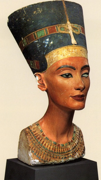 Bust of Nefretiti, wife of Akhenaten