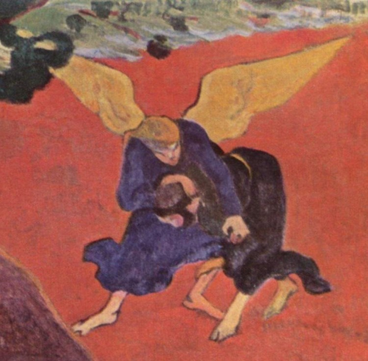 Gauguin wrestling with the angel 3