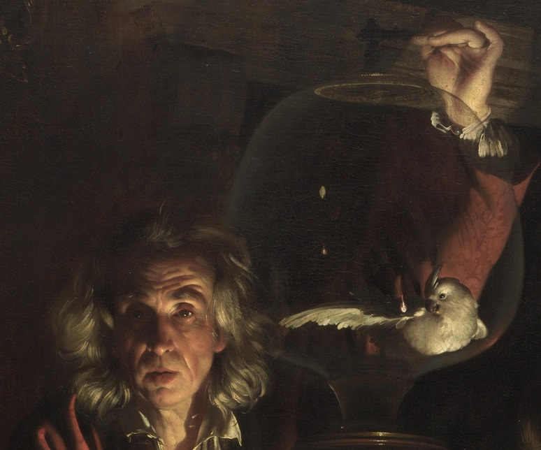 Joseph Wright of Derby- an experiment on a bird in an air pump 2