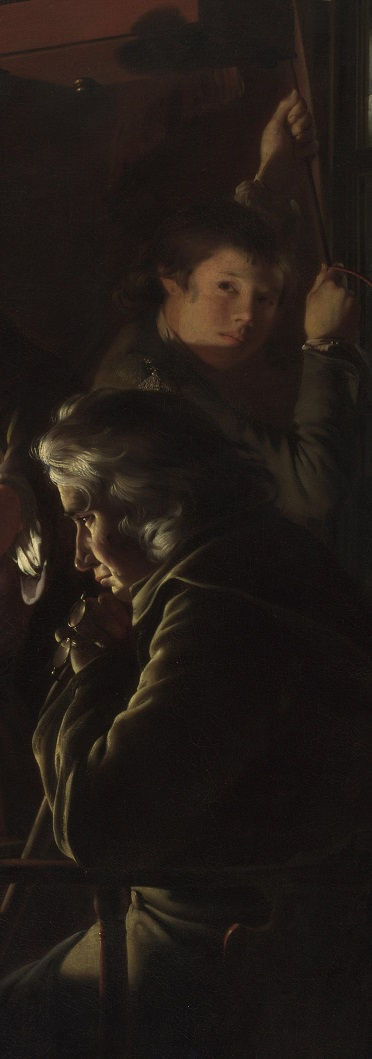 Joseph Wright of Derby- an experiment on a bird in an air pump 3