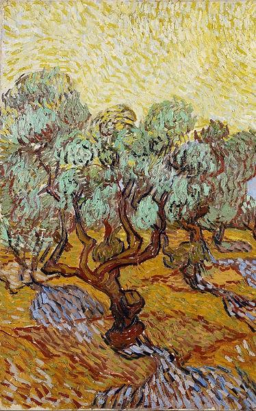 van Gogh- Olive trees 1