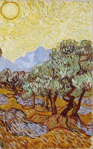 van Gogh- Olive trees 2