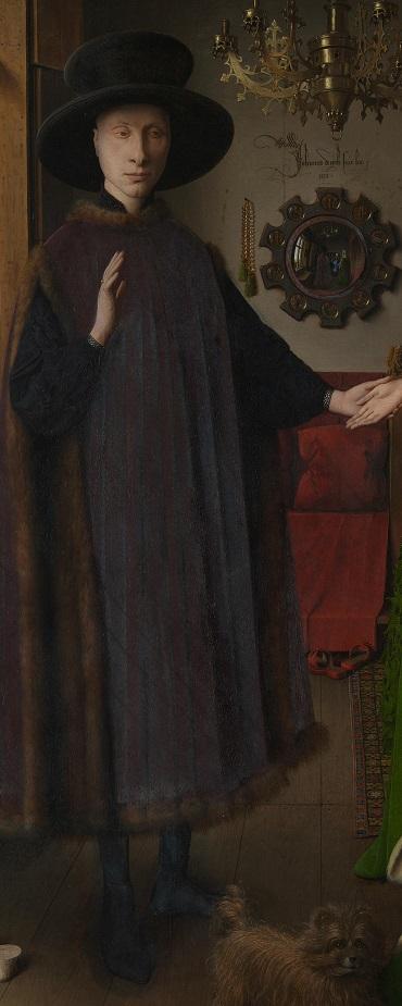 Jan van Eyck- Arnolfini portrait 1