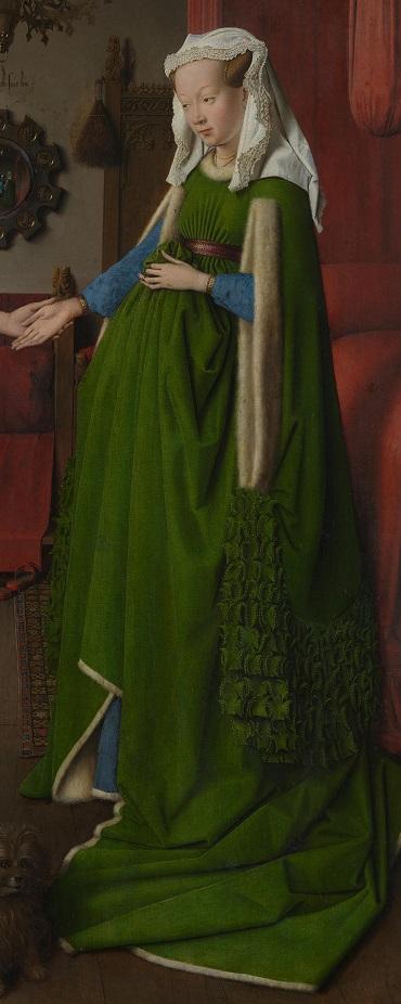 Jan van Eyck- Arnolfini portrait (2)