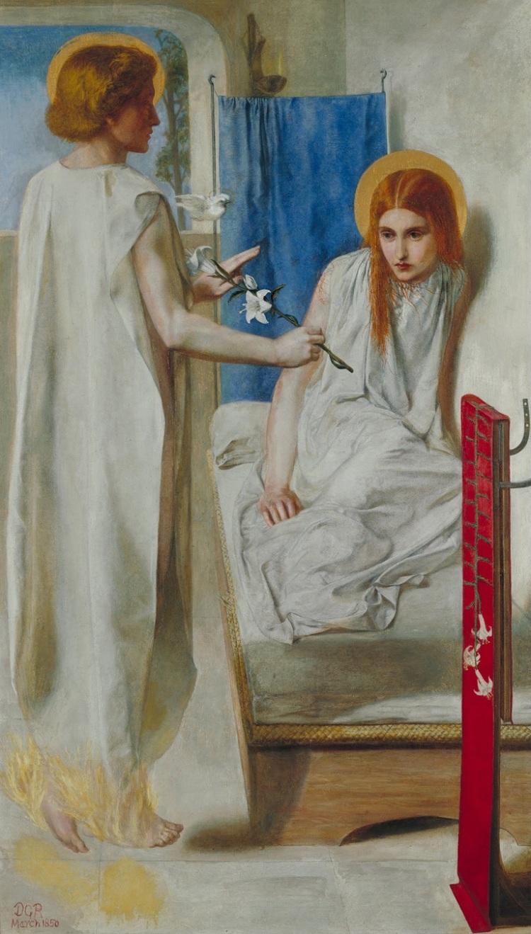 Rossetti- Ecce Ancilla Domini