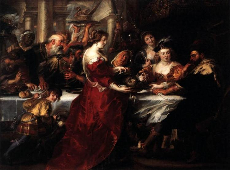 Rubens- The Feast of Herod