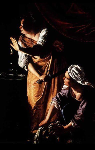 Artemisia Gentileschi, Judith and her Maidservant