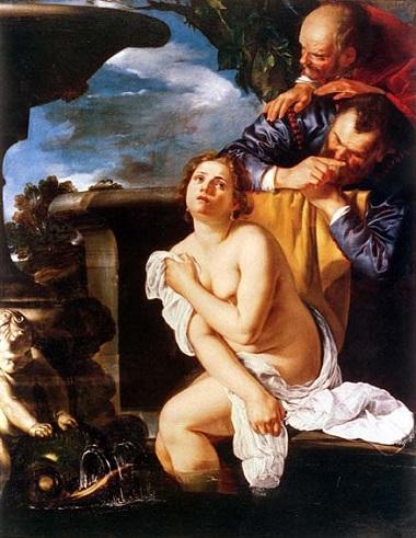 Artemisia Gentileschi, Susanna