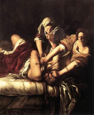 Gentileschi, Judith and Holofernes