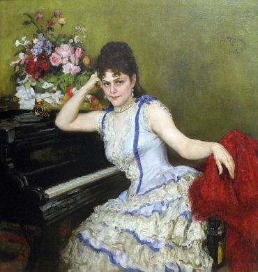 Ilya Repin, S.I. Menter