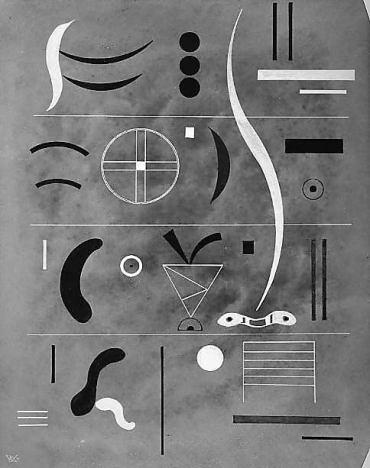 Kandinsky, four parts