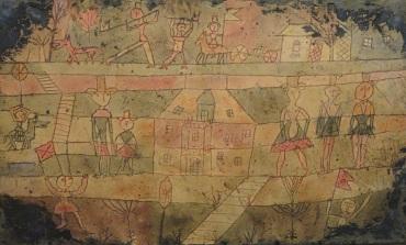 Klee, arrival of the Jugglers