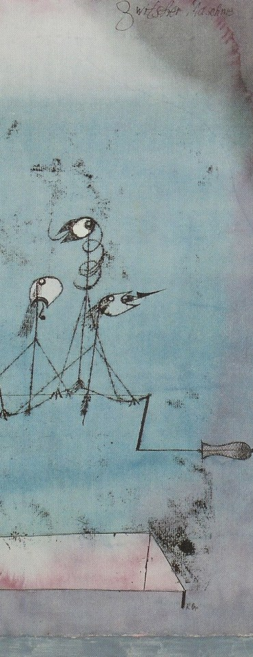 Paul Klee- Twittering machine (in part)