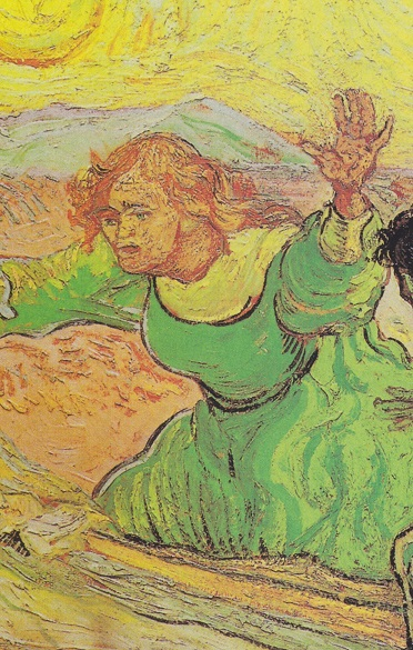 Van Gogh, the Raising of Lazarus 2