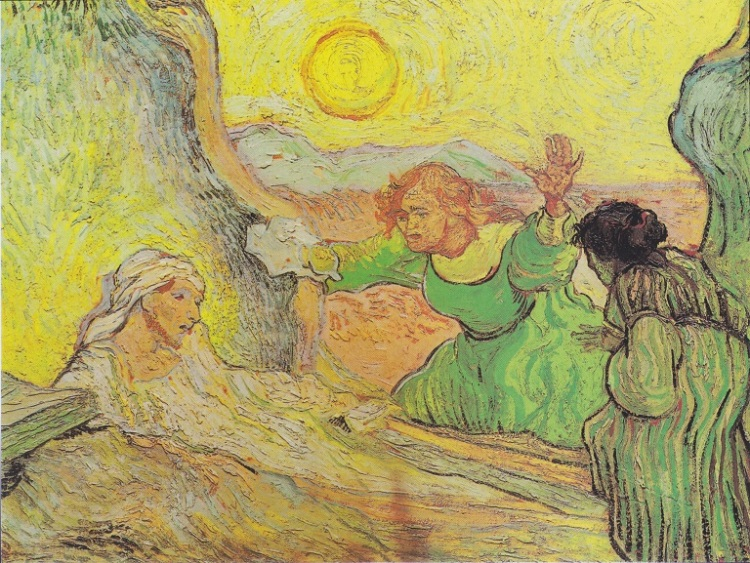 Van Gogh, the Raising of Lazarus