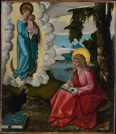 Metmuseum St John on Patmos, Hans Baldung Grien