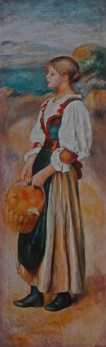 Renoir, la marchande d'oranges