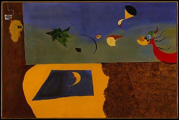 Animated landscape, oil 1927