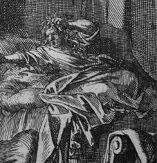 Jan Luyken, the Rapture- one in the bed