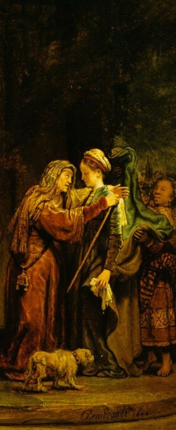 Rembrandt Visitation 1