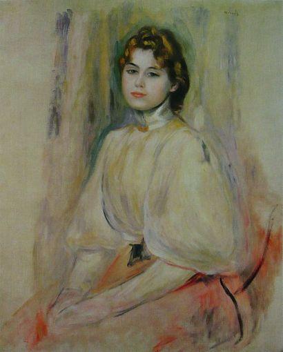 Renoir, jeune femme assise