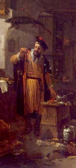 Thomas Wijck, The Alchemist