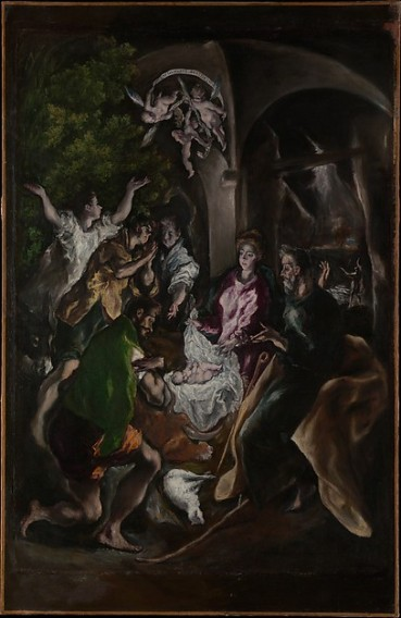 El Greco, The Adoration of the Shepherds, 1610