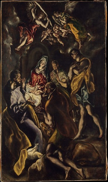 El Greco, The Adoration of the Shepherds, 1612-14