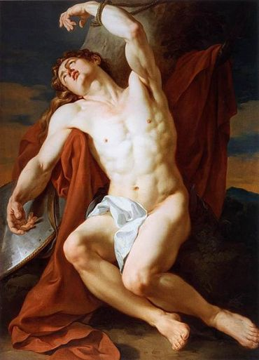 François-Guillaume Ménageot, the martyrdom of Saint Sebastian