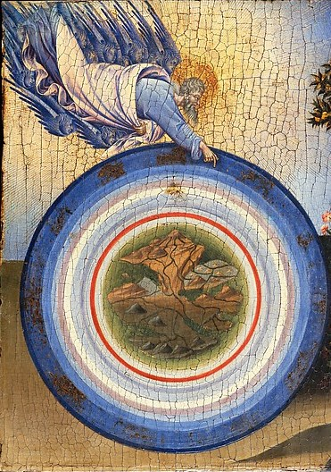 Giovanni di Paolo, The Creation of the World and the Expulsion from Paradise (2)