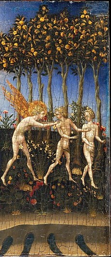 Giovanni di Paolo, The Creation of the World and the Expulsion from Paradise