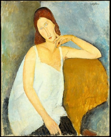 Jeanne Hébuterne, Modigliani