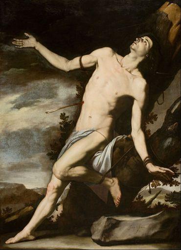 Jusepe de Ribera, Saint Sebastian