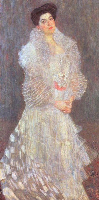 Klimt, portrait of Hermine Gallia