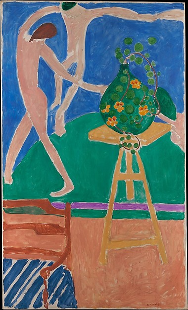 Nasturtiums with the Painting Dance, 1 Matisse
