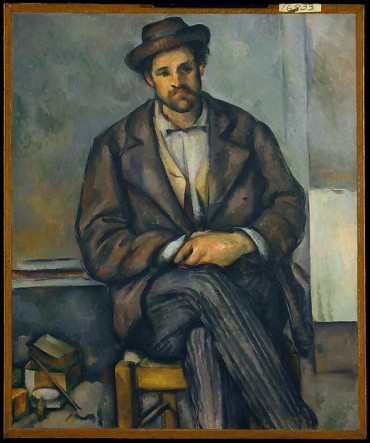 Paul Cézanne, Seated peasant